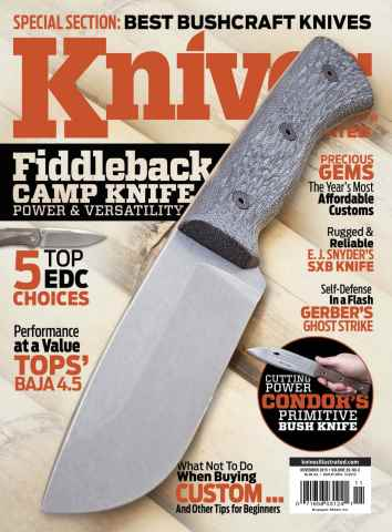 Knives Illustrated issue November 2015