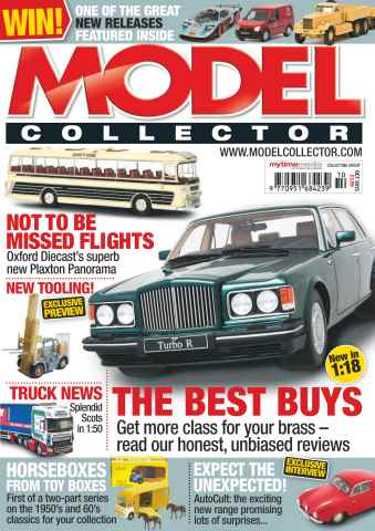 Model Collector issue October 2015
