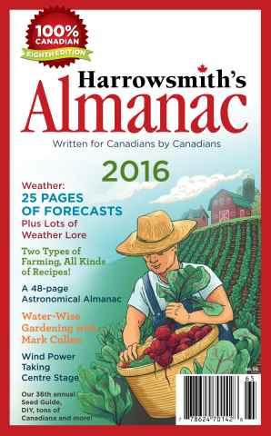Harrowsmith issue Harrowsmith's Almanac 2016