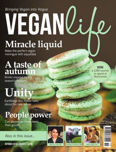 Vegan Life issue October 15