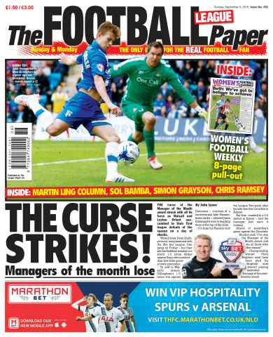 The Football League Paper issue 6th September 2015