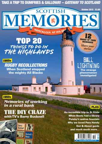 Scottish Memories issue October 2015