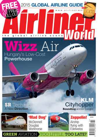 Airliner World issue October 2015