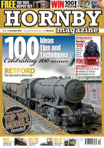 Hornby Magazine issue October 2015