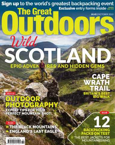 TGO - The Great Outdoors Magazine issue October 2015
