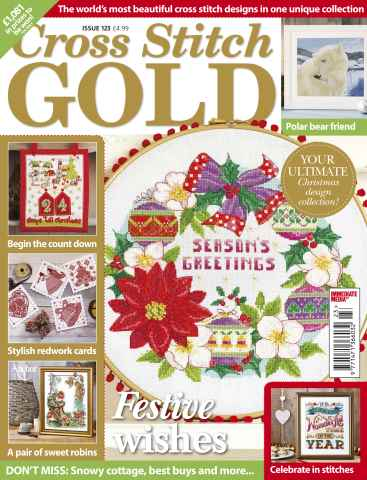 Cross Stitch Gold issue September 2015