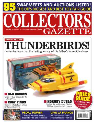 Collectors Gazette issue October 2015