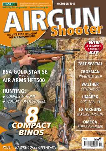 Airgun Shooter issue October 2015