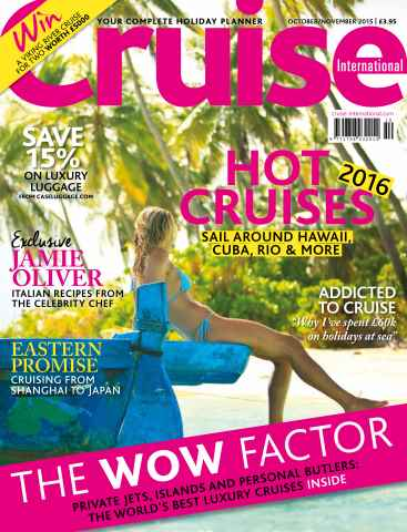 Cruise International issue Oct/Nov 2015