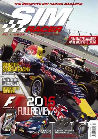 Sim Racer issue Vol 1 iss 7