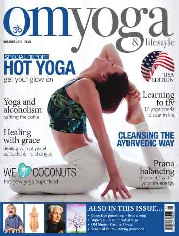 OM Yoga USA Magazine issue October 2015