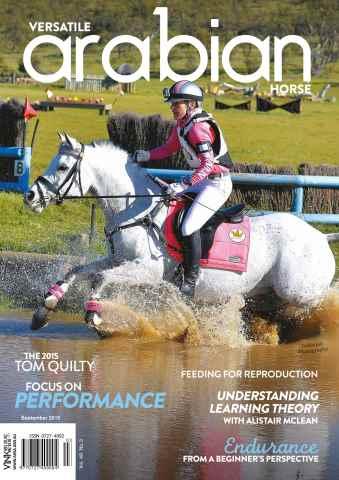 Australian Arabian Horse News issue September 2015 - Vol 49 - No.3