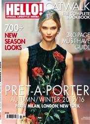 Hello! Magazine issue Prêt a Porter 2015