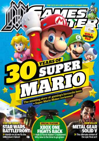 GamesMaster issue October 2015