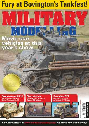 Military Modelling Magazine issue September 18th 2015