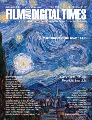 Film and Digital Times issue Sept 2015 Double Issue 71-72