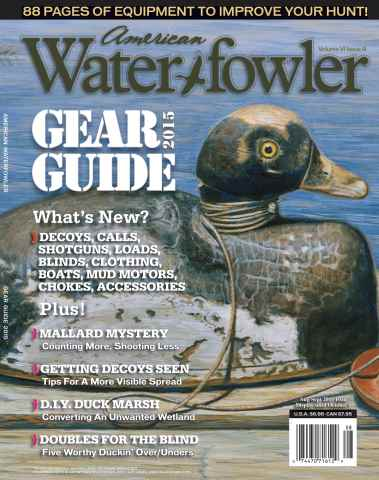 American Waterfowler issue Volume VI, Issue III