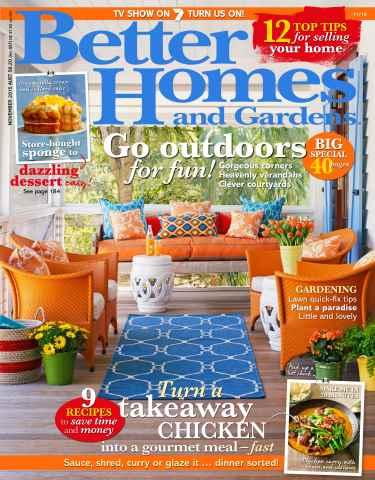 Better Homes and Gardens Australia issue November 2015
