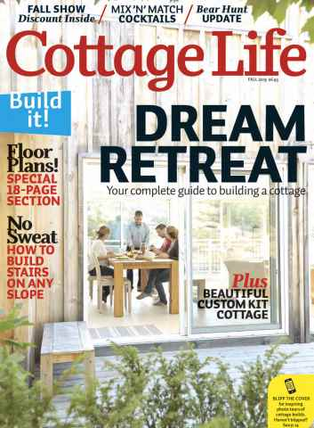 Cottage Life issue Fall 2015