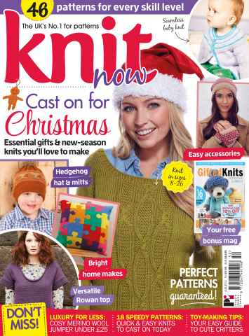 Knit Now issue 52