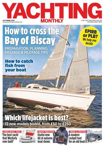 Yachting Monthly issue October 2015