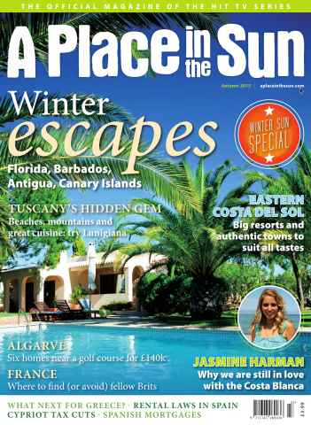 A Place in the Sun Magazine issue A Place in the Sun Autumn 2015