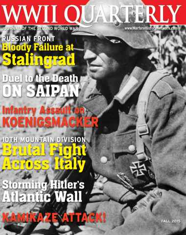WWII Quarterly issue Fall 2015