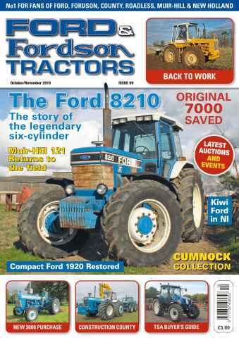 Ford & Fordson issue No. 69 The Ford 8210