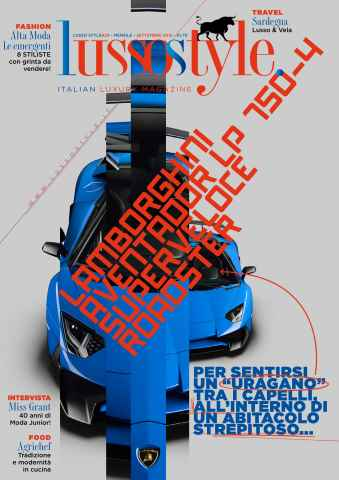 Lusso Style issue Lusso Style Settembre 2015