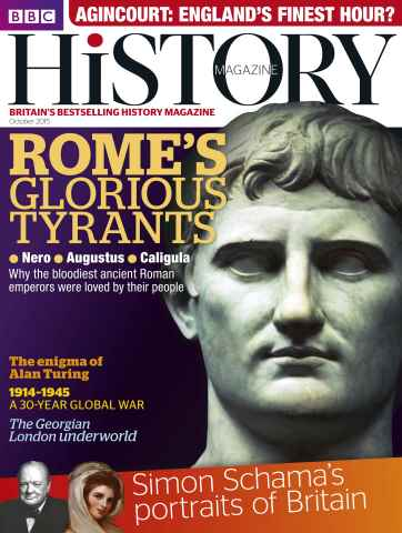 BBC History Magazine issue October 2015
