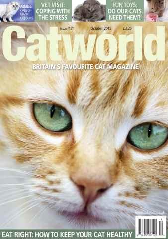 Cat World issue OCTOBER 2015
