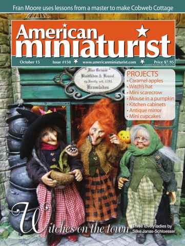American Miniaturist issue Issue 150