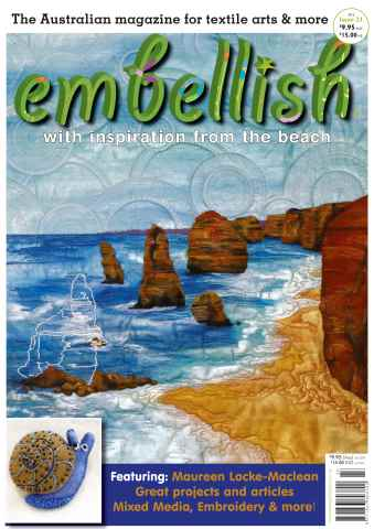 Embellish issue Embellish Magazine issue 23