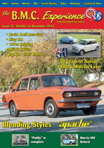BMC Experience issue Issue 15: October to December 2015
