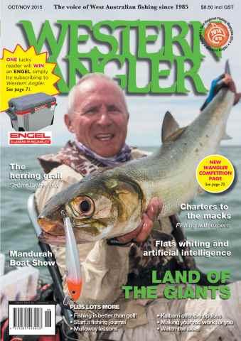 Western Angler issue Wangler Oct/Nov2105