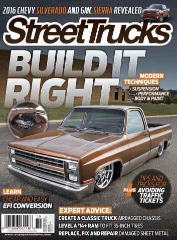 Street Trucks issue October 2015