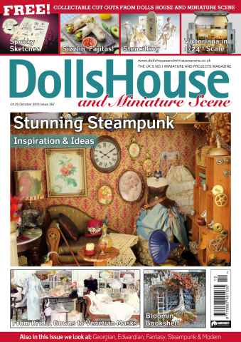 Dolls House and Miniature Scene issue October 2015 (Iss 257)