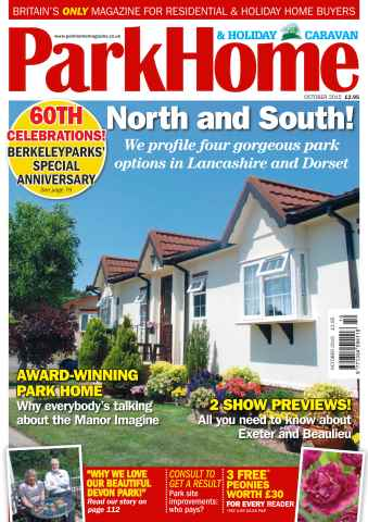 Park Home & Holiday Caravan issue No. 667 North and South!