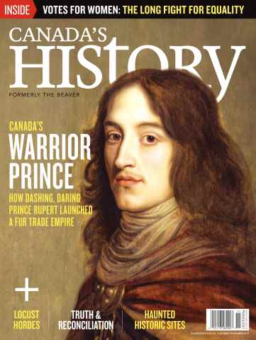 Canada's History issue Oct/Nov 2015