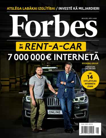 Forbes Latvia issue Forbes Septembris'15