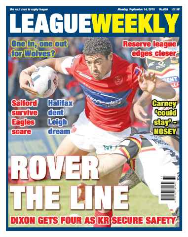 League Weekly issue 14 September 2015