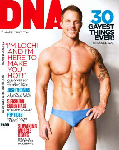DNA Magazine issue # 189 Make Me Hot