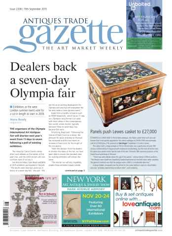 Antiques Trade Gazette issue 2208