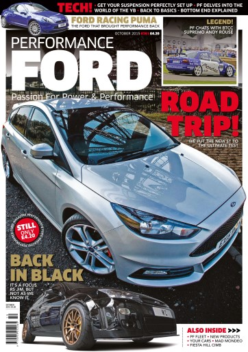 Performance Ford issue October 2015