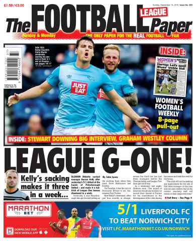 The Football League Paper issue 13th September 2015