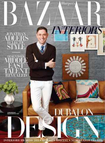 Harpers Bazaar Interiors issue Sep/Oct
