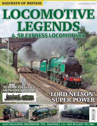 Railways of Britain issue Locomotive Legends 4. SR Express Locomotives