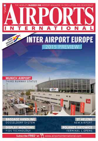 Airports International issue October 2015