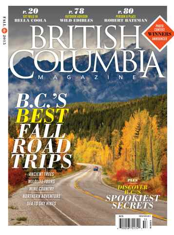 British Columbia Magazine issue Fall 2015