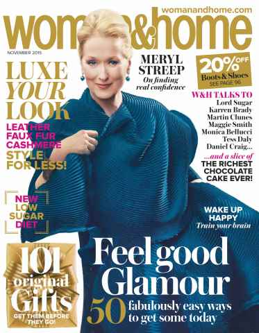 Woman & Home issue November 2015